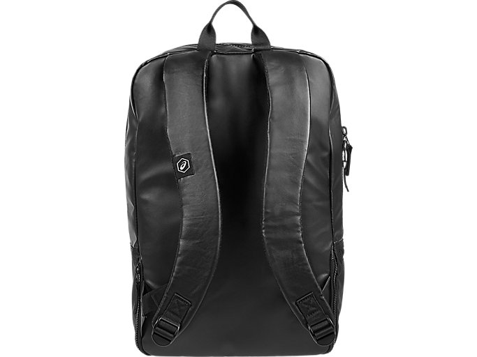 Back view of TR CORE BACKPACK, PERFORMANCE BLACK