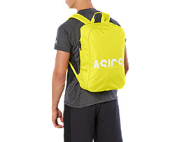 Front Top view of TR CORE BACKPACK, LEMON SPARK