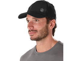 Alternative image view of ESSENTIALS CAP, PERFORMANCE BLACK