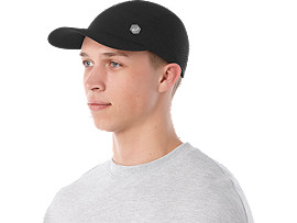 RUNNING CAP, PERFORMANCE BLACK