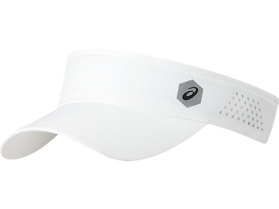 Visiera da corsa performance unisex, BRILLIANT WHITE