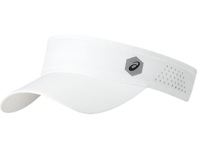 Front Top view of VISOR PERFORMANCE, BRILLIANT WHITE