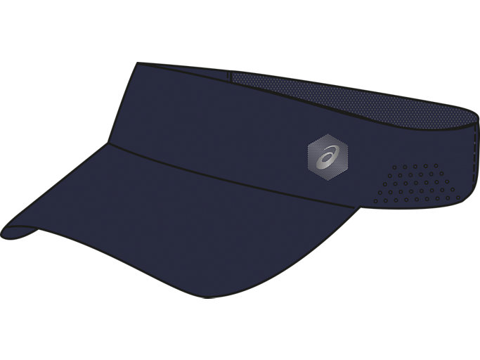 Front Top view of PERFORMANCE VISOR, PEACOAT