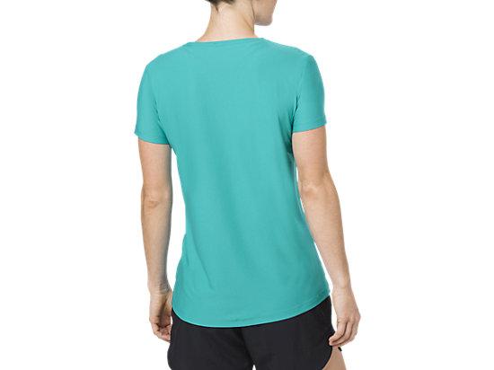 女印花T恤 LAKE BLUE