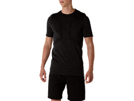 SEAMLESS SS TOP, Performance Black