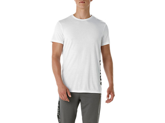 ESNT DBL GPX SS TOP, Brilliant White