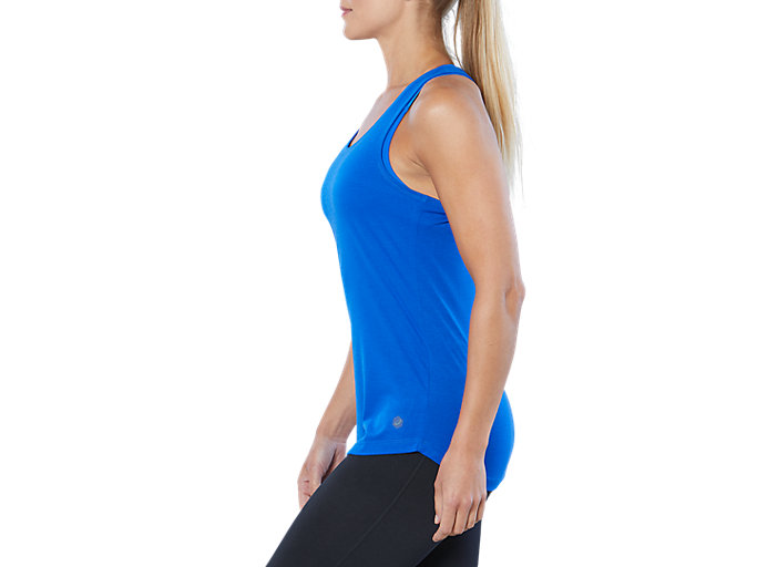 Side view of ESNT GPX TANK, ILLUSION BLUE/PEACOAT