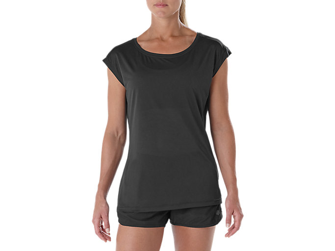 Alternative image view of LAYERING SS TOP, PERFORMANCE BLACK