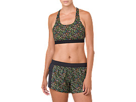 LP PRINT BRA, PERFORMANCE BLACK