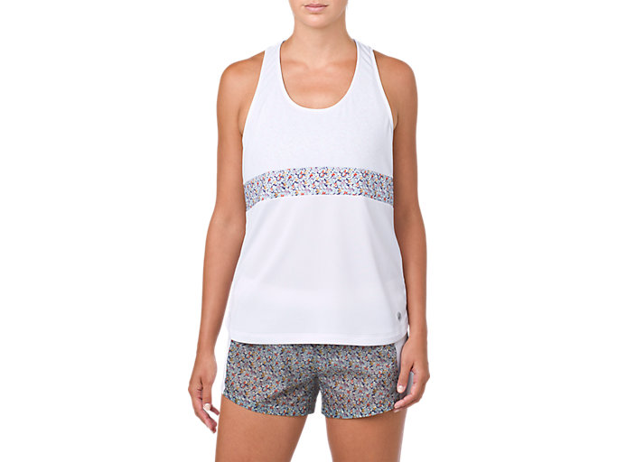 Front Top view of LP PRINT TANK, BRILLIANT WHITE
