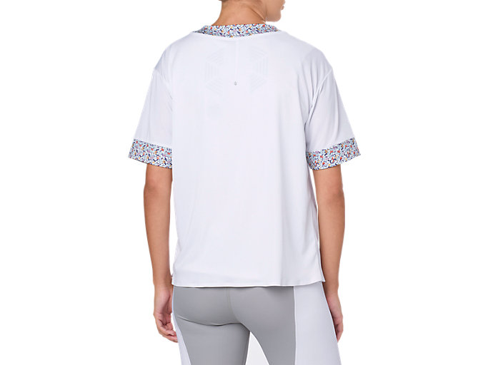 Back view of LP SS TEE, BRILLIANT WHITE