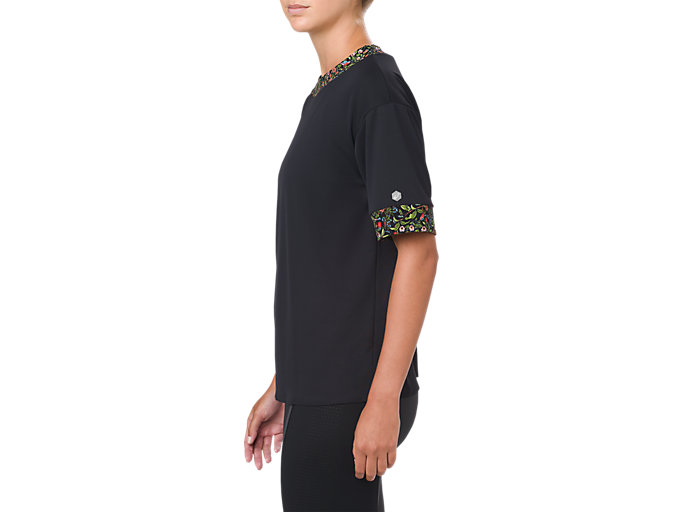 Alternative image view of LP SS TEE, PERFORMANCE BLACK