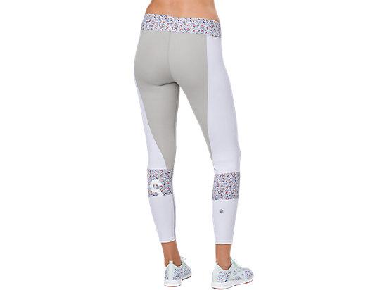 女印花緊身褲 Brilliant White