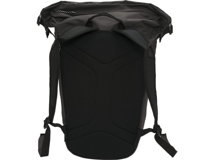 Back view of BACK PACK 20, DARK GREY