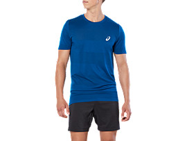 SPORT SEAMLESS KNIT TOP, POSEIDON