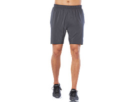 "SPORT 7""RUN SHORT, DARK GREY"