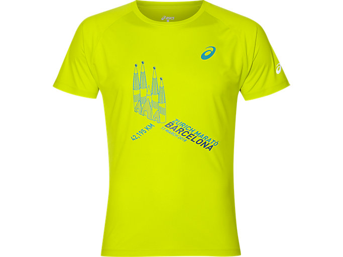 Front Top view of TECHNICAL GRAPHIC T-SHIRT, SULPHUR SPRING