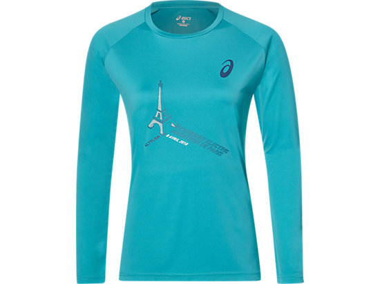 TS TECHNICAL LS TOP, LAKE BLUE