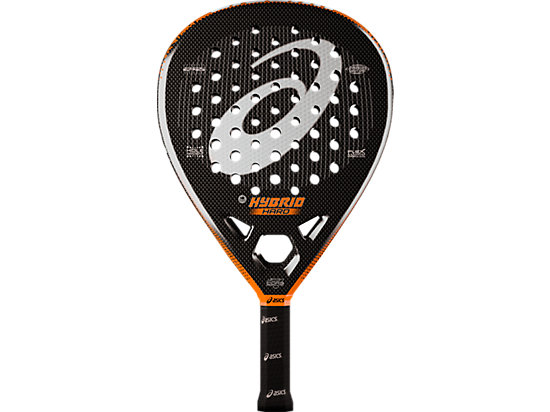 HYBRID PADEL RACKET HARD, ORANGE RAQUET