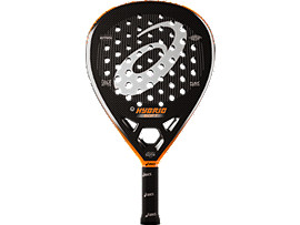 HYBRID PADEL RACKET SOFT, ORANGE RAQUET