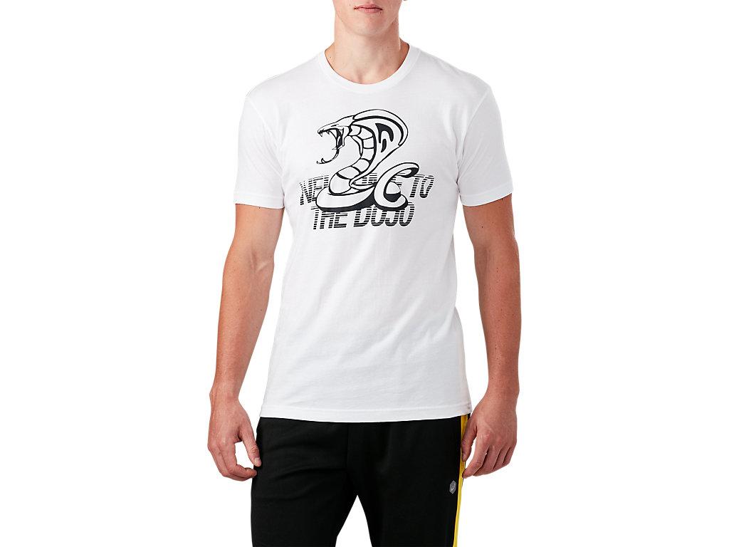 ASICS Men's DOJO Short Sleeve Graphic T-Shirt Clothes 159145