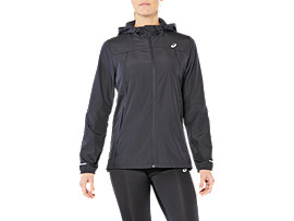 RUN HOOD JACKET, PERFORMANCE BLACK