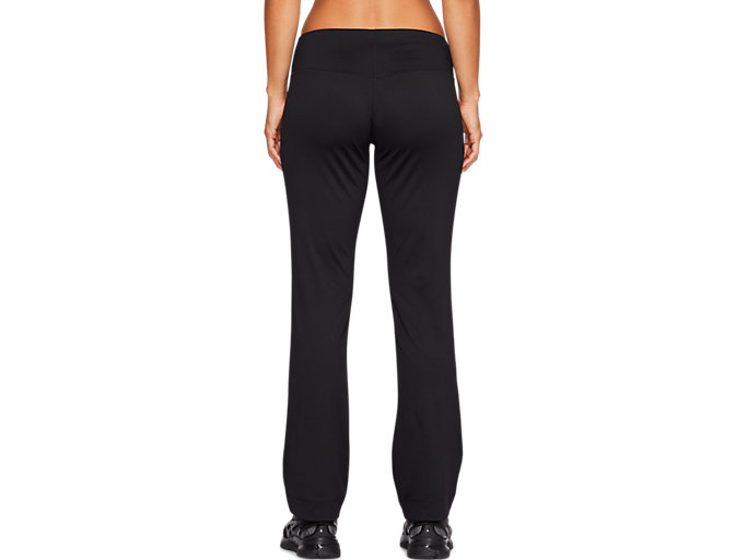 Back view of WORKOUT PANT, PERFORMANCE BLACK