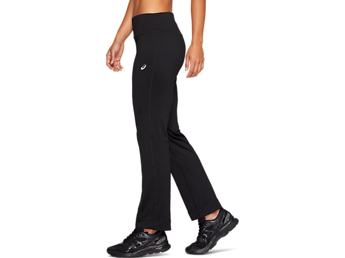 Side view of WORKOUT PANT, PERFORMANCE BLACK