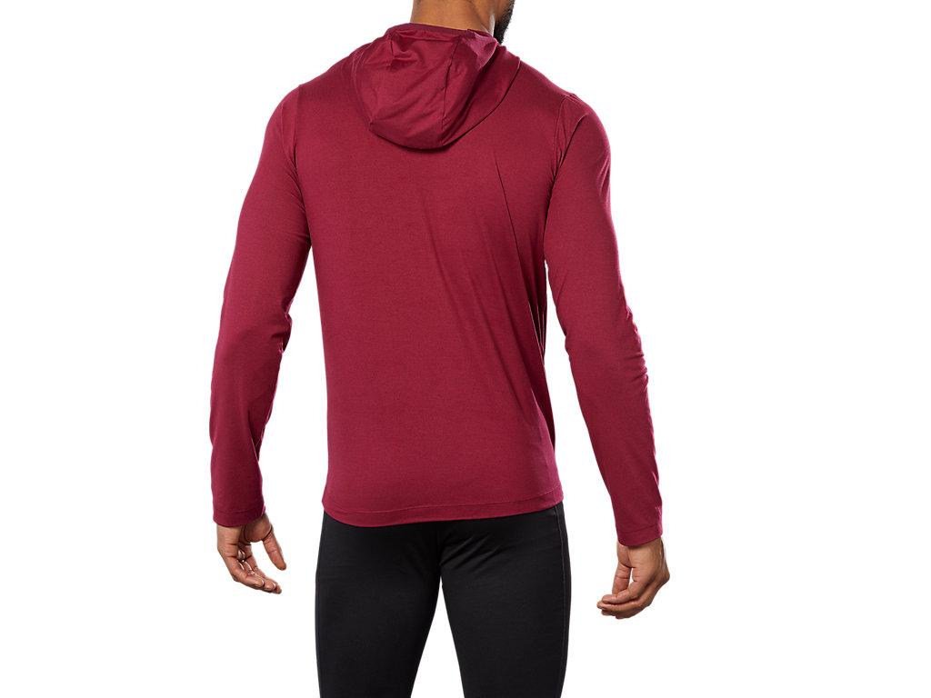 bd29abba8030d LS HOODIE | Men | CORDOVAN HEATHER | Men's Hoodies & Sweatshirts | ASICS