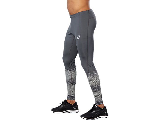 Side view of RACE TIGHT, DARK GREY