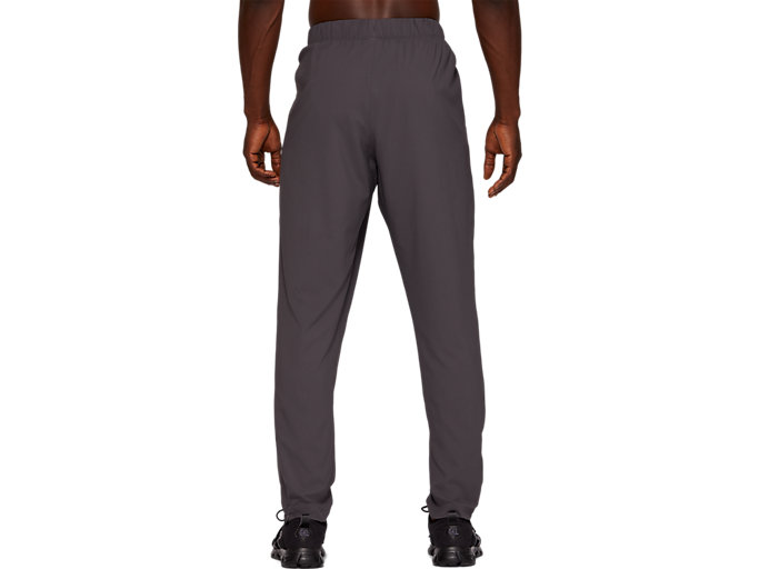 Back view of SPORT WOVEN PANT, DARK GREY