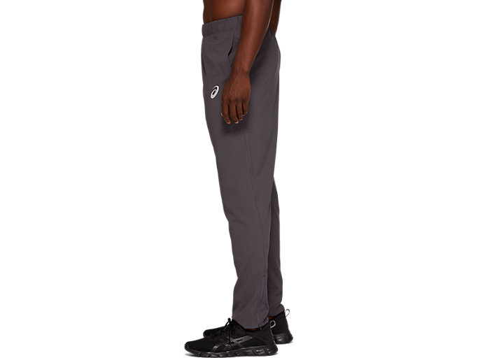 Side view of SPORT WOVEN PANT, DARK GREY