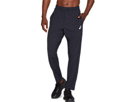 Front Top view of SPORT WOVEN PANT, PERFORMANCE BLACK