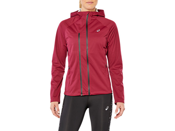 Front Top view of ACCELERATE JACKET, CORDOVAN