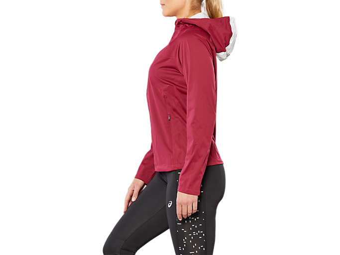 Side view of ACCELERATE JACKET, CORDOVAN