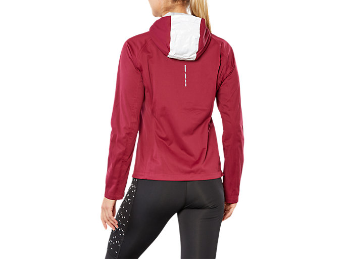 Back view of ACCELERATE JACKET, CORDOVAN
