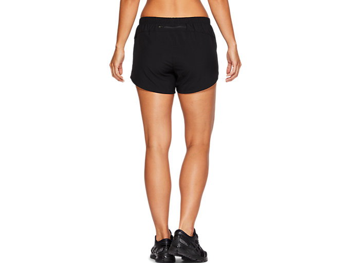 Back view of SPORT 2 IN 1 SHORT, PERFORMANCE BLACK