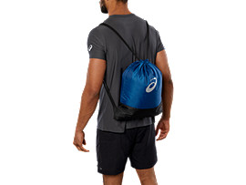 COLOR BLOCK GYMBAG, POSEIDON