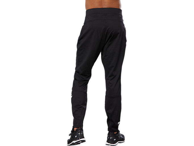Back view of SPORT HEX PANT, PERFORMANCE BLACK