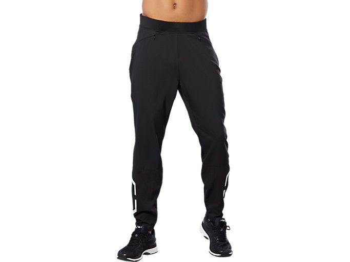 Front Top view of SPORT HEX PANT, PERFORMANCE BLACK