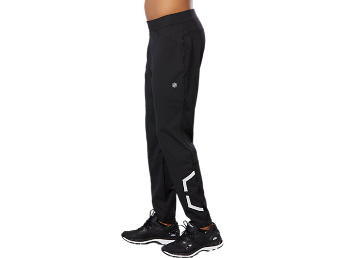 Side view of SPORT HEX PANT, PERFORMANCE BLACK