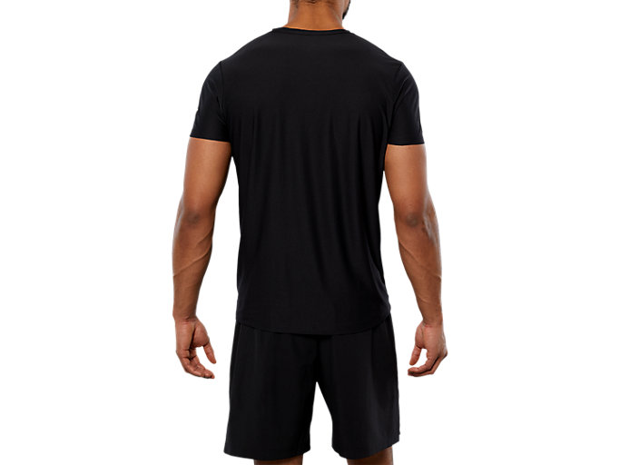 Back view of SPORT GPX SS TOP, PERFORMANCE BLACK