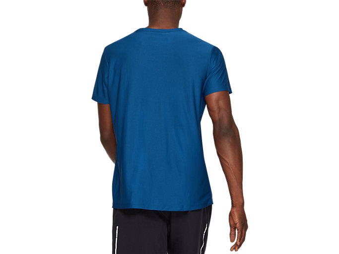 Back view of SPORT GPX SS TOP, GRAND SHARK/GLACIER GREY