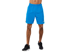 Front Top view of SPORT CB SHORT, RACE BLUE