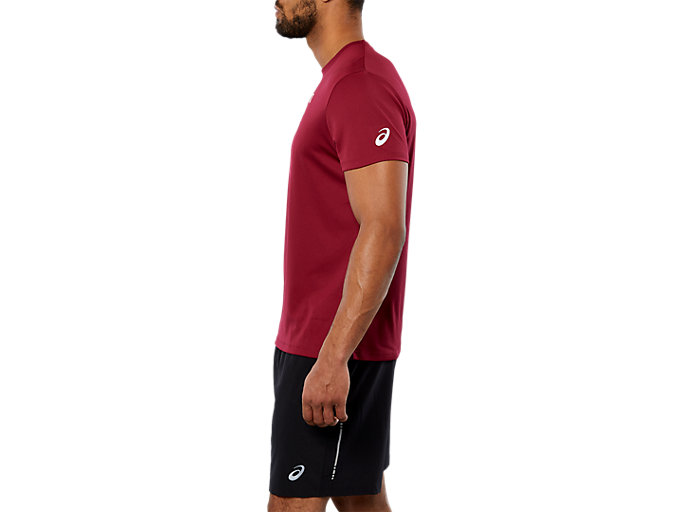 Side view of SPORT GPX RUN SS TOP, CORDOVAN