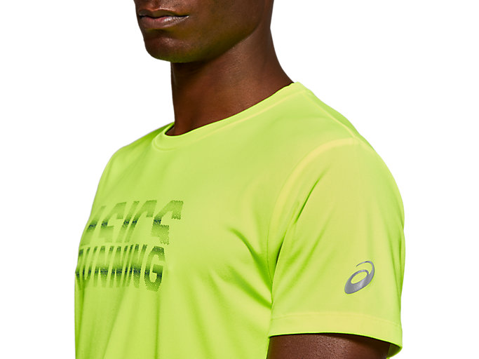 Alternative image view of SPORT GPX RUN SS TOP, SAFETY YELLOW/MAKO BLUE