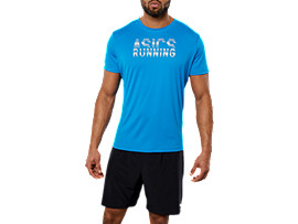 SPORT GPX SS RUN TOP, RACE BLUE