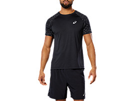 SPORT REF SS TOP, PERFORMANCE BLACK