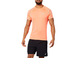 SPORT REF SS TOP, FLASH CORAL
