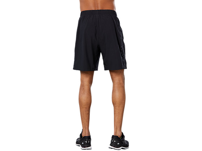 Back view of SPORT 7IN REF SHORT, PERFORMANCE BLACK
